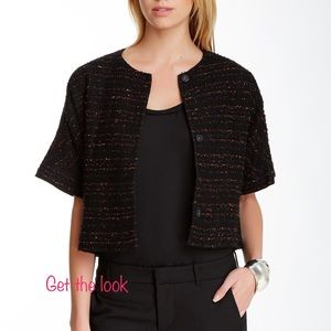 Magaschoni Cropped Jacket